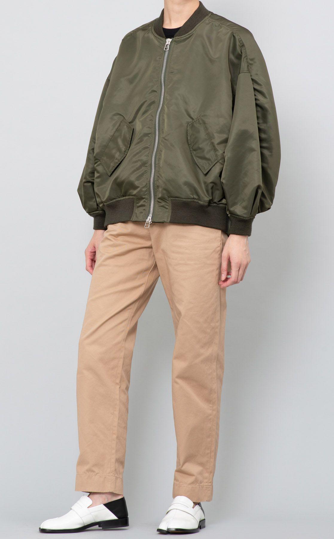 ビッグスリーブMA-1ジャケット